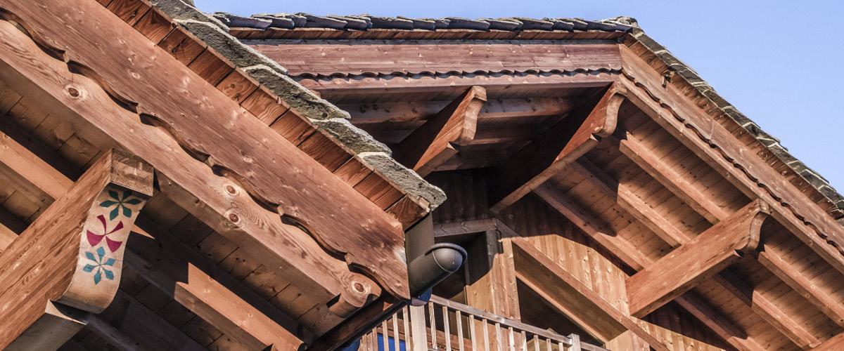 Le Planica construction pierre et bois